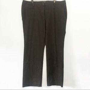Talbots Black career style straight leg dressPants